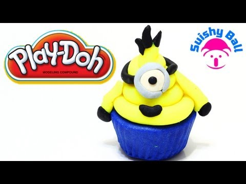 Play-Doh Minion Cupcake Despicable ME Minions Banana Song