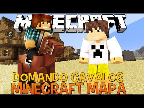 Vingadores do Faroeste (2) - Domando Cavalos - Minecraft