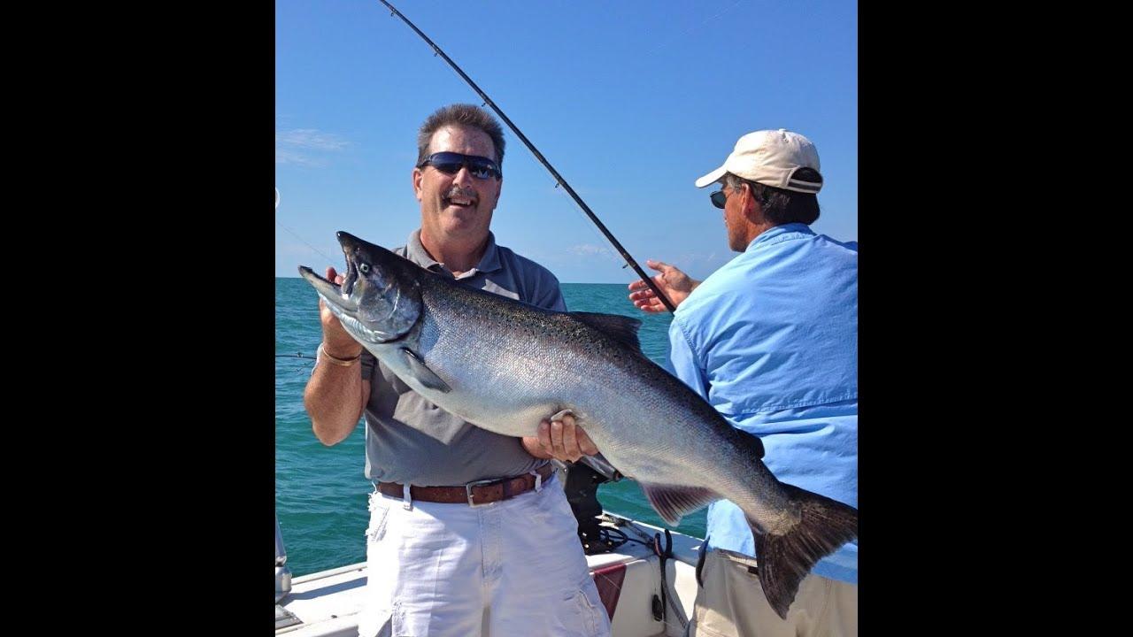 Lake ontario salmon fishing charters with reelsilver for Salmon fishing charters