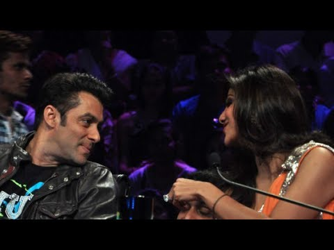 Salman Khan and Shilpa Shetty conversation on the sets of Nach Baliye 6