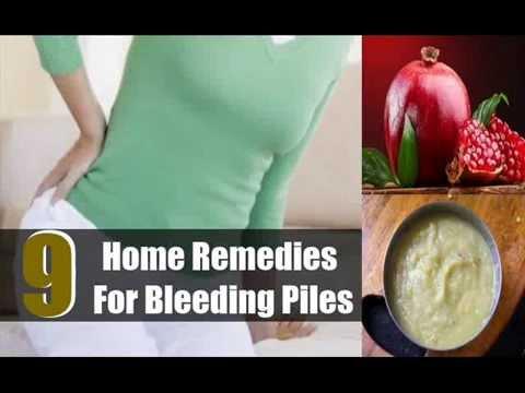 9 Best Home Remedies For Bleeding Piles