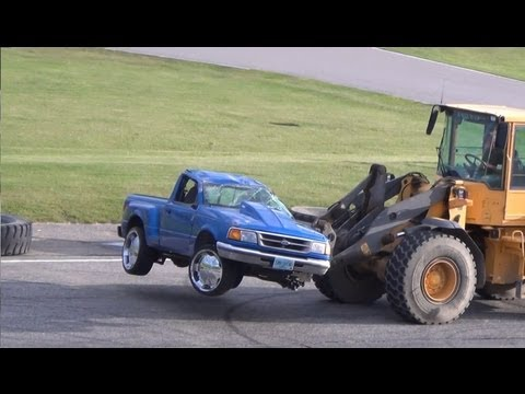Ford Ranger Flips at Spectator Drags (Beech Ridge)