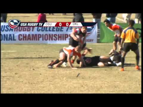 2013 USA Rugby College 7s National Championship: Oklahoma vs Oregon