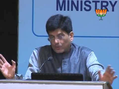 Shri Piyush Goyal addresses the Conclave
