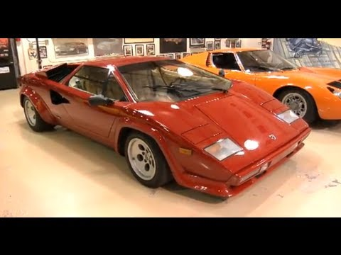 1986 Lamborghini Countach - Jay Leno's Garage