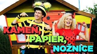 Smejko a Tanculienka - Kameň, papier, nožnice