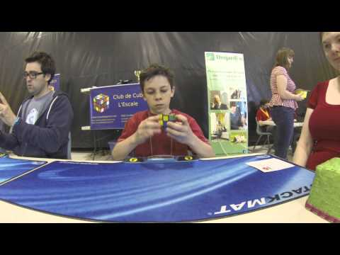 Competition Rubik's Cube NCR May 2013