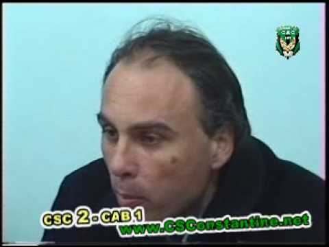 CSC 2 - CAB 1 - Conférence de presse de Daniel Janackovic
