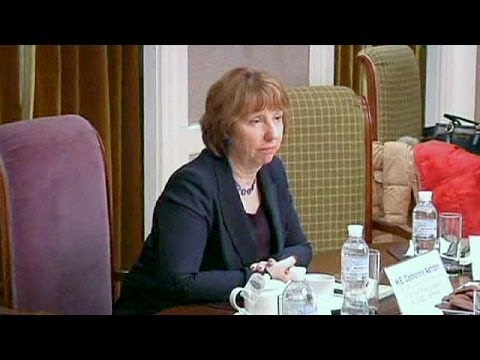 Catherine Ashton in talks with Ukraine about a trade agreement with Europe