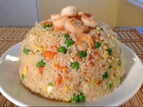 Fried Rice-How To Cook Shrimp Fried Rice-Asian Comfort Food Recipes
