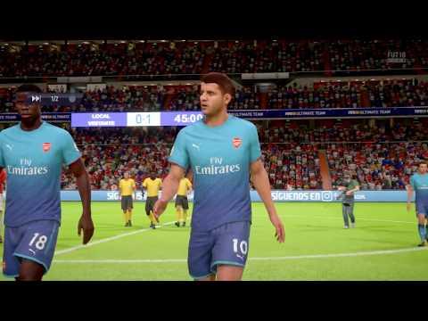 Arsenal FC vs Sweat FC - FIFA 18 Ultimate Team - PS4 PRO
