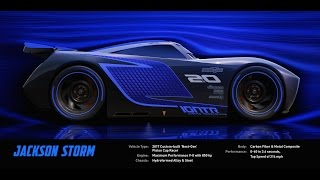 Meet Jackson Storm - Disney/Pixar's Cars 3