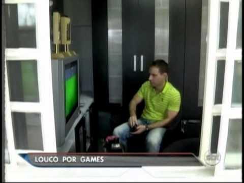Recorde de Atari Superado em 2013 - Antonio Borba no SBT Brasil - 08/04/13