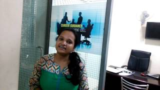 Saoumya's Placement @ Croma Campus