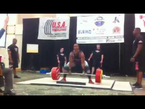 Ian Bell and Erik Gunhamn deadlift battle 2013 junior world