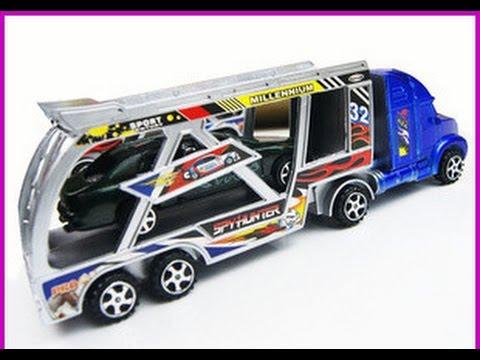 Juguete de camiones y remolques grande, Camiones Juguetes Para Niños