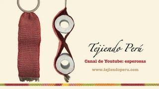 Porta Rollos De Papel Tejido En Ganchillo Tunecino