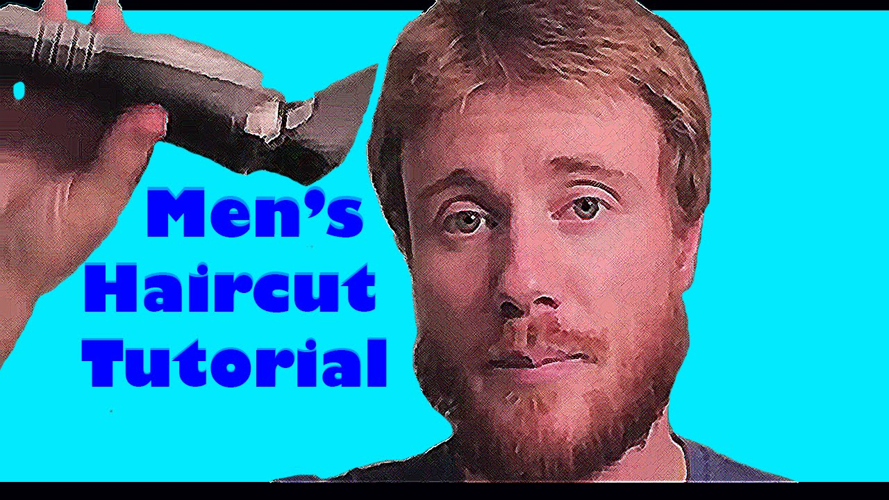 DO IT YOURSELF MEN 39 S HAIR CUT TUTORIAL QUICK EASY YouTube