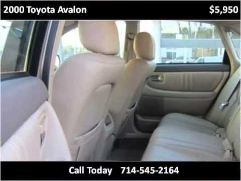 2000 Toyota Avalon Used Cars Costa Mesa CA