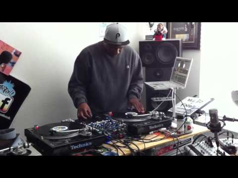 DJ Bee using Xcalibur's Rane 62