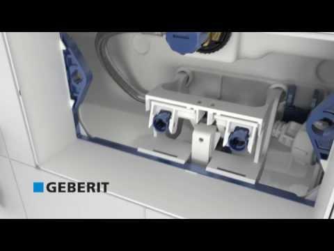 Geberit Sigma - instalacja, montaż