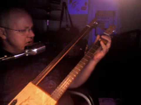 cigar box guitar (Factory Girl M. Jagger  K.Richards) by Ice Bob