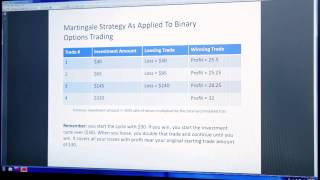 Martingale Strategy As Applied To Binary Options Trading