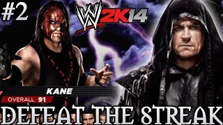 WWE 2K14 DEFEAT THE STREAK With Kane! (Attempt #2)