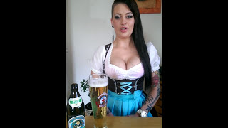 "Sexy ""Beer Challenge"" From Germany"