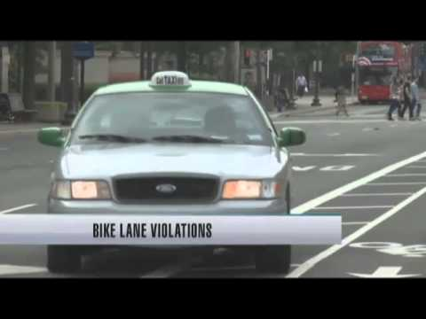 Drivers ignore bike lane restrictions
