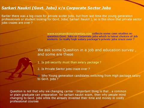 Is Sarkari Naukri best ?