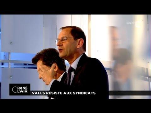 C dans l'air - Valls résiste aux syndicats - 16 juin 2014