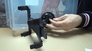 Unboxing of Car auto Mount frame Universal DVD C AY Holder f...