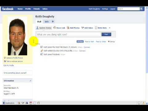 How To Setup a Facebook Account / Profile