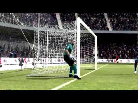 Epic fail from Victor Valdes(Fifa 12)