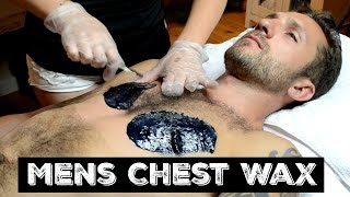 Mens Chest Wax using Cirepil Hard Wax
