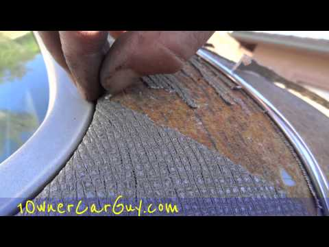 top repair replacement diy paint tips spray paint a vogue car roof