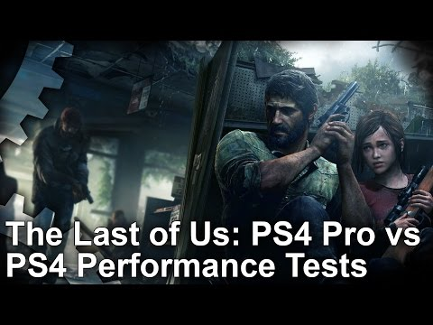 The Last of Us Remastered PS4 Pro vs PS4 Gameplay Frame-Rate Test