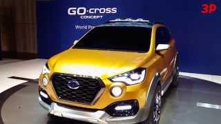 Datsun GO-cross concept  — 360 градусов. Видео тесты За Рулем.