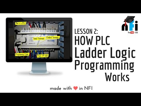 PLC Training - Introduction to PLC Ladder Logic, Part 1 ...
