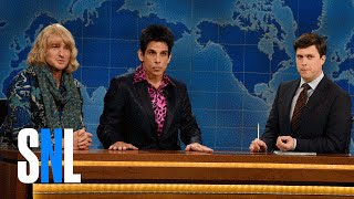 Derek Zoolander & Hansel: SNL Weekend Update