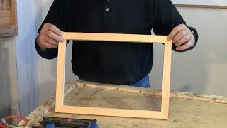 Making Picture Frames With A Sliding Mitre Saw A