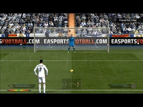 Penalty Kicks From FIFA 04 to FIFA 14 (PC, PS3, Xbox ONE)