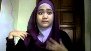 tutorial hijab by Rizma Amalina2 .3GP view on youtube.com tube online.