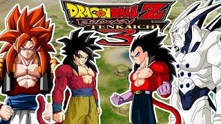 Dragon Ball Z Budokai Tenkaichi 3 Goku SSJ4 Vs Vegeta