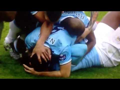 Yaya Toure goal vs Sunderland league cup final