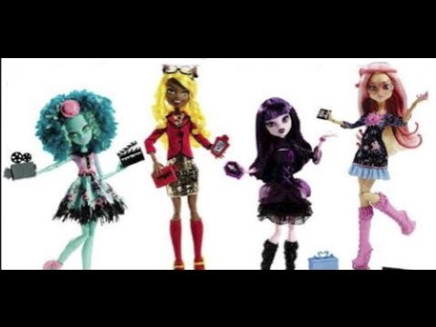 New Monster High Dolls and Playsets for 2013-2014