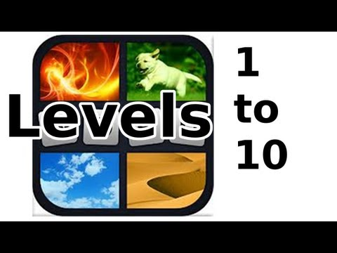4 Pics 1 Word - Level 1 to 10 - Walkthrough