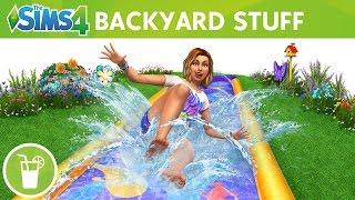 The Sims 4 Backyard Stuff: Official Trailer