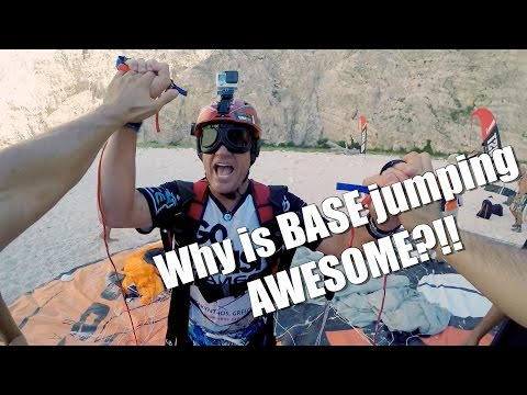 Why is BASE jumping AWESOME? A brief but spectacular lesson